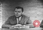 Image of presidential election debate Washington DC USA, 1960, second 13 stock footage video 65675073649