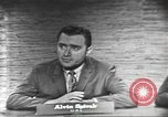 Image of presidential election debate Washington DC USA, 1960, second 14 stock footage video 65675073649