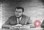 Image of presidential election debate Washington DC USA, 1960, second 15 stock footage video 65675073649