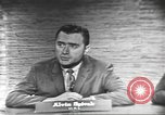 Image of presidential election debate Washington DC USA, 1960, second 16 stock footage video 65675073649
