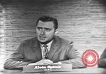 Image of presidential election debate Washington DC USA, 1960, second 17 stock footage video 65675073649