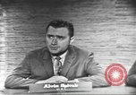 Image of presidential election debate Washington DC USA, 1960, second 19 stock footage video 65675073649