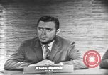 Image of presidential election debate Washington DC USA, 1960, second 20 stock footage video 65675073649