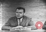 Image of presidential election debate Washington DC USA, 1960, second 21 stock footage video 65675073649