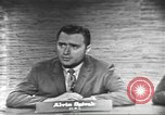Image of presidential election debate Washington DC USA, 1960, second 22 stock footage video 65675073649