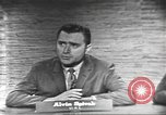 Image of presidential election debate Washington DC USA, 1960, second 26 stock footage video 65675073649