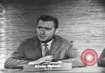 Image of presidential election debate Washington DC USA, 1960, second 27 stock footage video 65675073649