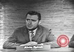 Image of presidential election debate Washington DC USA, 1960, second 28 stock footage video 65675073649