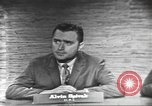 Image of presidential election debate Washington DC USA, 1960, second 29 stock footage video 65675073649