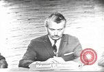 Image of presidential election debate Washington DC USA, 1960, second 3 stock footage video 65675073652