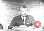 Image of presidential election debate Washington DC USA, 1960, second 4 stock footage video 65675073652