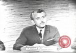 Image of presidential election debate Washington DC USA, 1960, second 5 stock footage video 65675073652