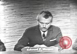 Image of presidential election debate Washington DC USA, 1960, second 7 stock footage video 65675073652
