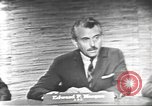 Image of presidential election debate Washington DC USA, 1960, second 8 stock footage video 65675073652