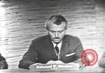 Image of presidential election debate Washington DC USA, 1960, second 11 stock footage video 65675073652