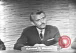 Image of presidential election debate Washington DC USA, 1960, second 14 stock footage video 65675073652