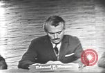 Image of presidential election debate Washington DC USA, 1960, second 15 stock footage video 65675073652