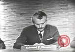 Image of presidential election debate Washington DC USA, 1960, second 16 stock footage video 65675073652