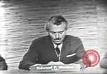 Image of presidential election debate Washington DC USA, 1960, second 17 stock footage video 65675073652