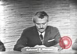 Image of presidential election debate Washington DC USA, 1960, second 18 stock footage video 65675073652