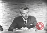 Image of presidential election debate Washington DC USA, 1960, second 19 stock footage video 65675073652