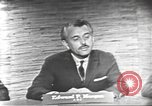 Image of presidential election debate Washington DC USA, 1960, second 20 stock footage video 65675073652