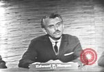 Image of presidential election debate Washington DC USA, 1960, second 24 stock footage video 65675073652