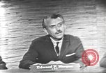 Image of presidential election debate Washington DC USA, 1960, second 25 stock footage video 65675073652
