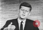 Image of presidential election debate Washington DC USA, 1960, second 39 stock footage video 65675073652