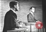 Image of presidential election debate Washington DC USA, 1960, second 59 stock footage video 65675073652