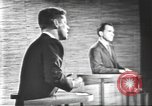 Image of presidential election debate Washington DC USA, 1960, second 61 stock footage video 65675073652