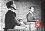Image of presidential election debate Washington DC USA, 1960, second 62 stock footage video 65675073652