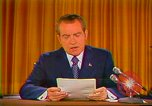 Image of Richard Nixon Washington DC USA, 1973, second 3 stock footage video 65675073679
