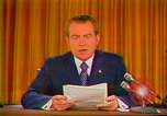 Image of Richard Nixon Washington DC USA, 1973, second 4 stock footage video 65675073679