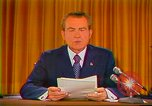 Image of Richard Nixon Washington DC USA, 1973, second 5 stock footage video 65675073679