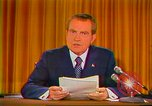 Image of Richard Nixon Washington DC USA, 1973, second 12 stock footage video 65675073679