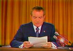 Image of Richard Nixon Washington DC USA, 1973, second 13 stock footage video 65675073679