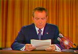 Image of Richard Nixon Washington DC USA, 1973, second 16 stock footage video 65675073679