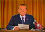 Image of Richard Nixon Washington DC USA, 1973, second 21 stock footage video 65675073679