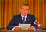 Image of Richard Nixon Washington DC USA, 1973, second 23 stock footage video 65675073679