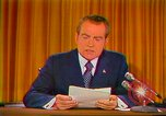 Image of Richard Nixon Washington DC USA, 1973, second 25 stock footage video 65675073679