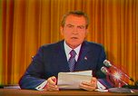 Image of Richard Nixon Washington DC USA, 1973, second 28 stock footage video 65675073679