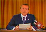 Image of Richard Nixon Washington DC USA, 1973, second 30 stock footage video 65675073679