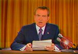 Image of Richard Nixon Washington DC USA, 1973, second 31 stock footage video 65675073679