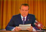 Image of Richard Nixon Washington DC USA, 1973, second 35 stock footage video 65675073679