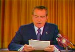 Image of Richard Nixon Washington DC USA, 1973, second 37 stock footage video 65675073679