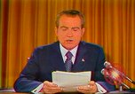 Image of Richard Nixon Washington DC USA, 1973, second 38 stock footage video 65675073679