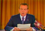 Image of Richard Nixon Washington DC USA, 1973, second 39 stock footage video 65675073679