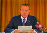 Image of Richard Nixon Washington DC USA, 1973, second 40 stock footage video 65675073679