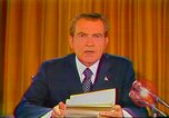 Image of Richard Nixon Washington DC USA, 1973, second 43 stock footage video 65675073679